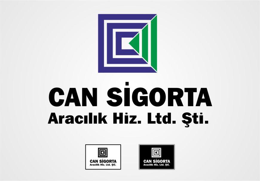 Sigorta Acentesi Logo Tasarımı - Can Sigorta Hizmetleri