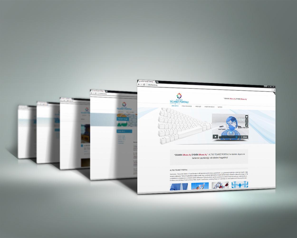 Web Portalı Tasarımı - ALTSO Ticaret Portalı