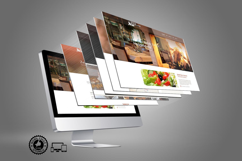 Balık Restoranı Web Sitesi Tasarımı - Alanya Balık Evi