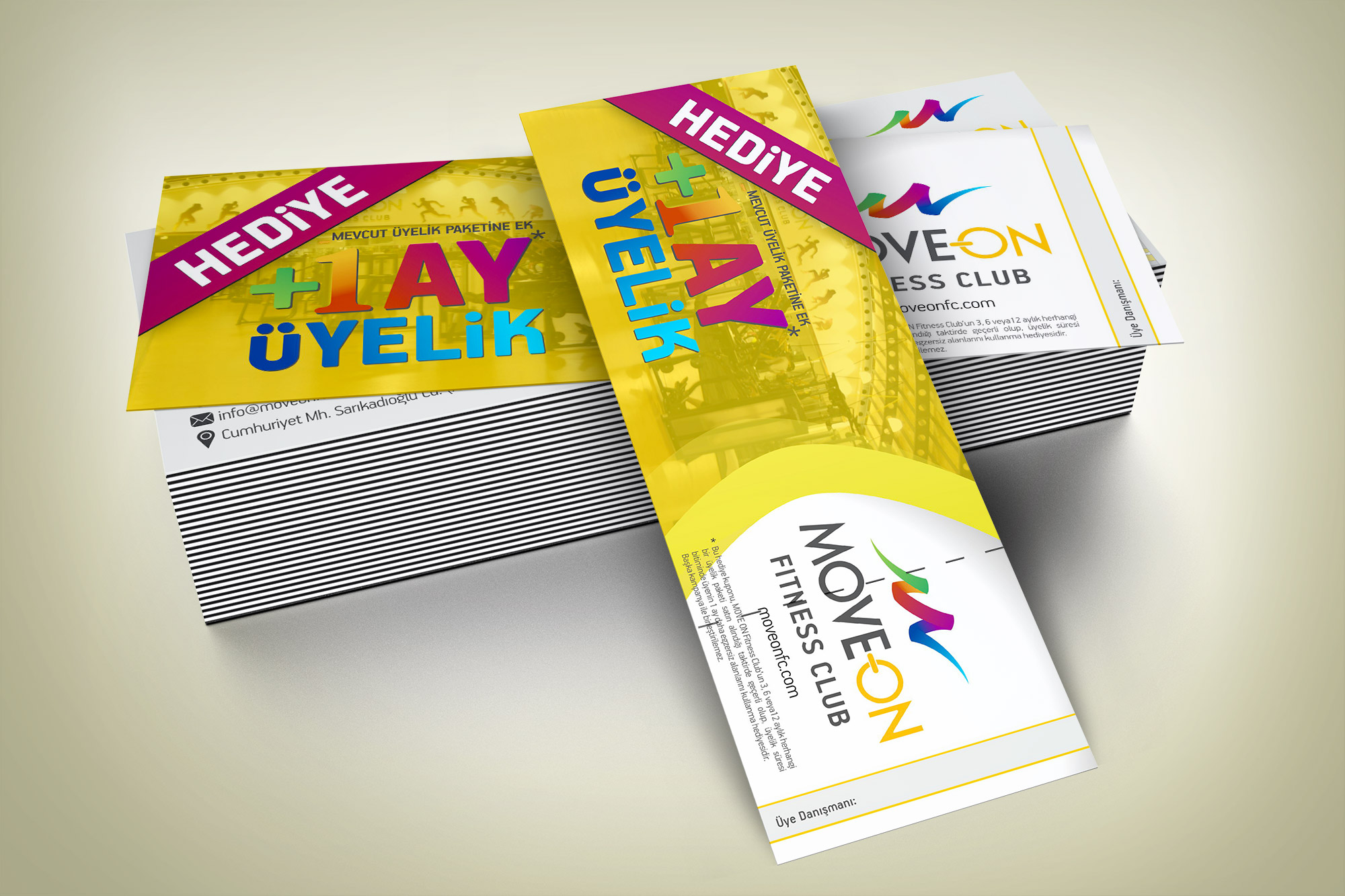 Hediye Kuponu - Move On Fitness Club