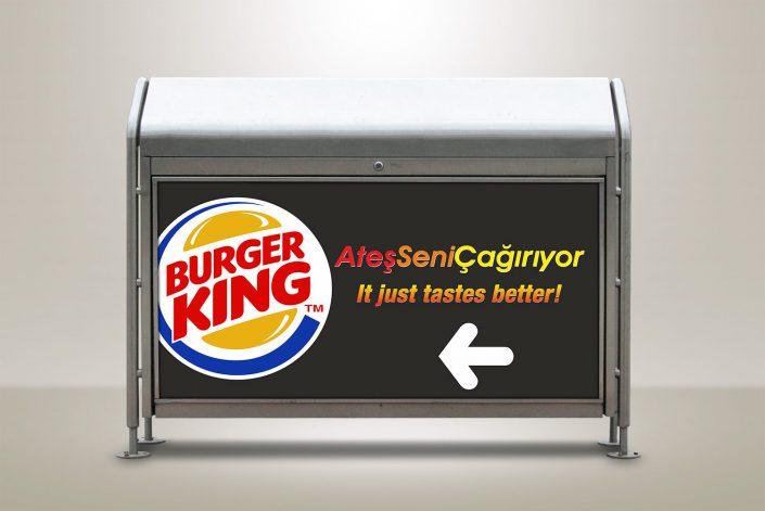 Geri Dönüşüm Kutusu - Burger King