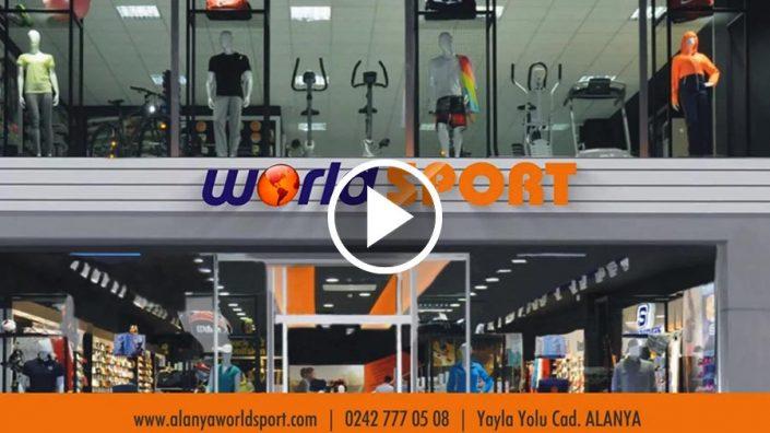 Spor Giyim Mağazası Tanıtım Filmi - World Sport