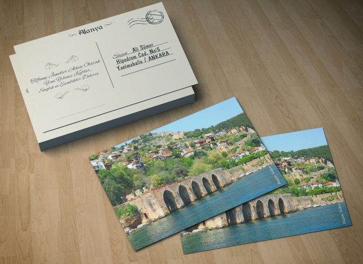 Kartpostal - AKS Tiffani Juwelier