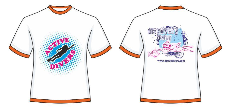 Bisiklet Yaka T-Shirt - Aktive Divers Alanya