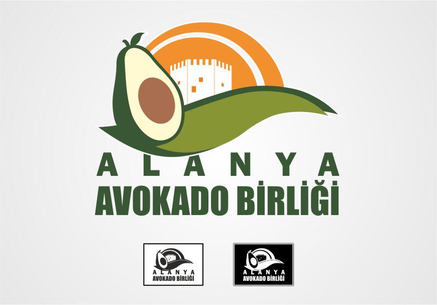 Avokado Logo Çalışması - Alanya Avakoda Birliği