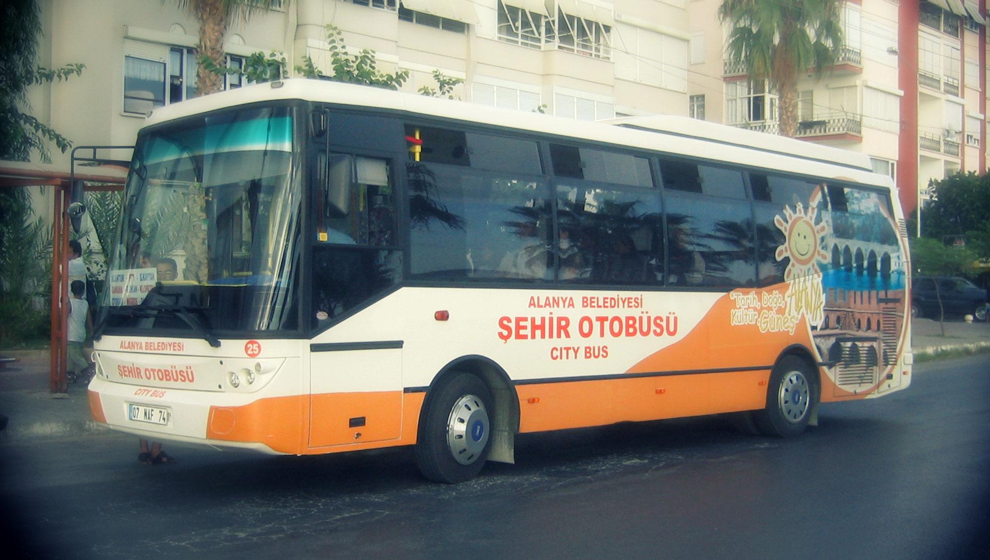 Halk Otobüsü Üzeri Giydirme - ALTAV