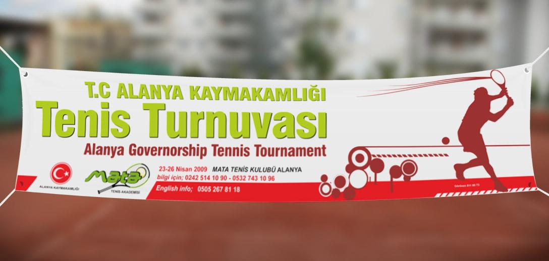 Tenis Turnuva Tanıtım Kampanyası - Alanya Kaymakamlığı - Mata Tenis Akademisi