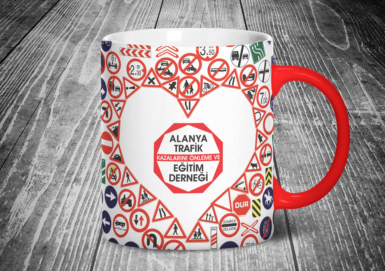Kupa Bardak - Hediyelik - Alanya Trafik Eğitim Derneği Kupa Bardağı