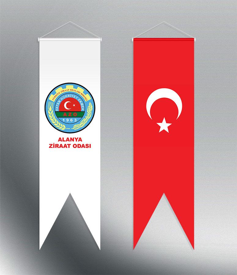 Kırlangıç Türk Bayrağı ve Flama - Ziraat Odası