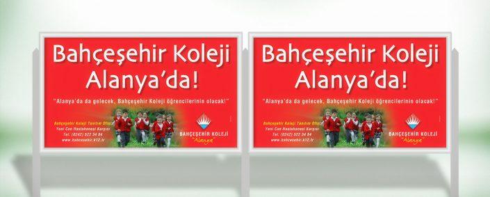 Billboard Afişi - Bahçeşehir Koleji Alanya