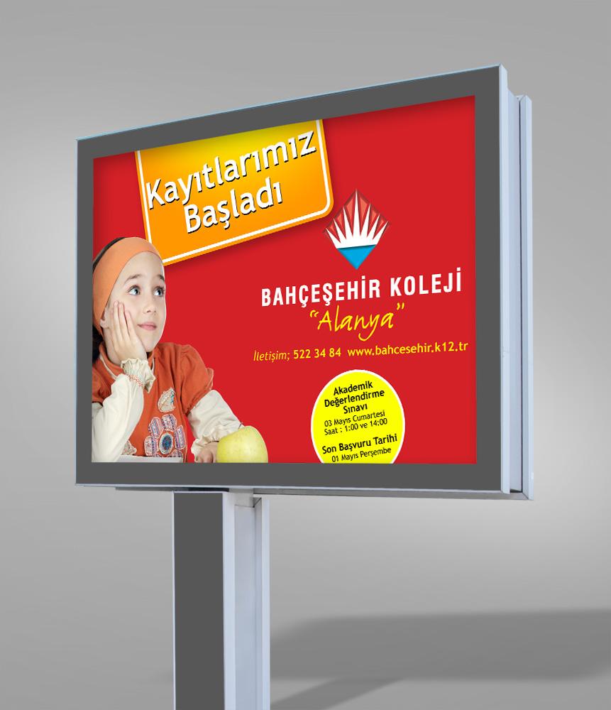 Megalihgt Afişi - Bahçeşehir Koleji Alanya Antalya