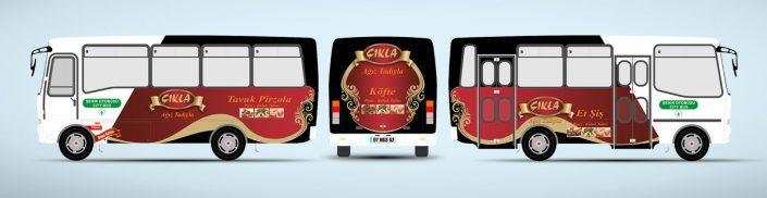 Köfteci Halk Otobüsü Reklamı - Çıkla Köfte Piyaz