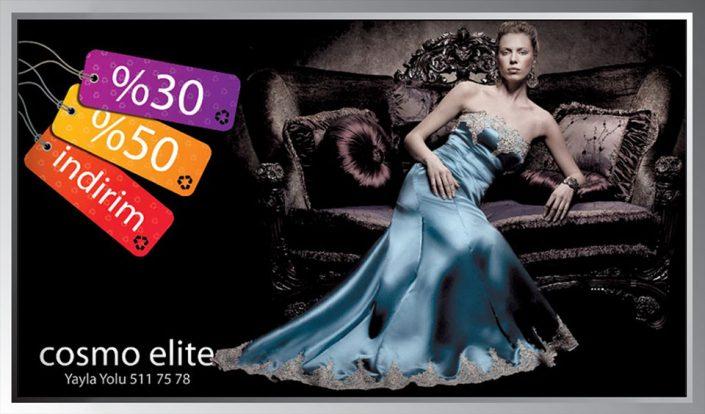 Bilbord Afişi - Cosmo Elite Giyim Mağazası
