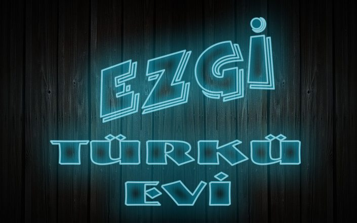 Neon Tabela - Ezgi Türkü Evi