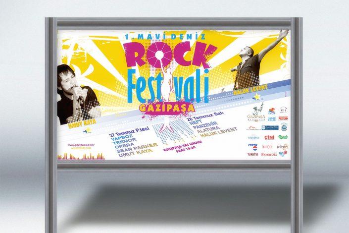 Rock Festivali Tanıtımı - Gazipaşa Belediyesi