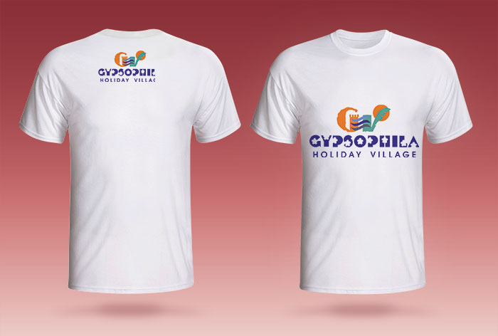 Basklı T-Shirt - Gypsophila Holiday Village