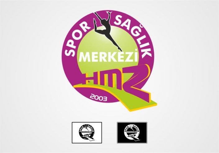 GYM Logo Tasarım - HMZ GYM Fitness