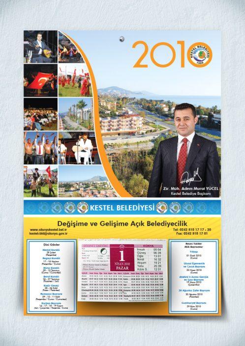 Blok Takoz Takvim - Kestel Belediyesi - Adem Murat Yücel