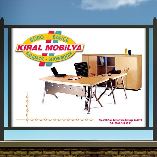 Büro Mobilyası Stadyum Reklam Panosu
