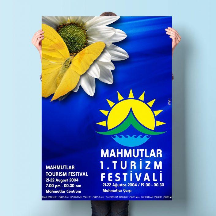 Festival Afişi - Mahmutlar Belediyesi ALANYA