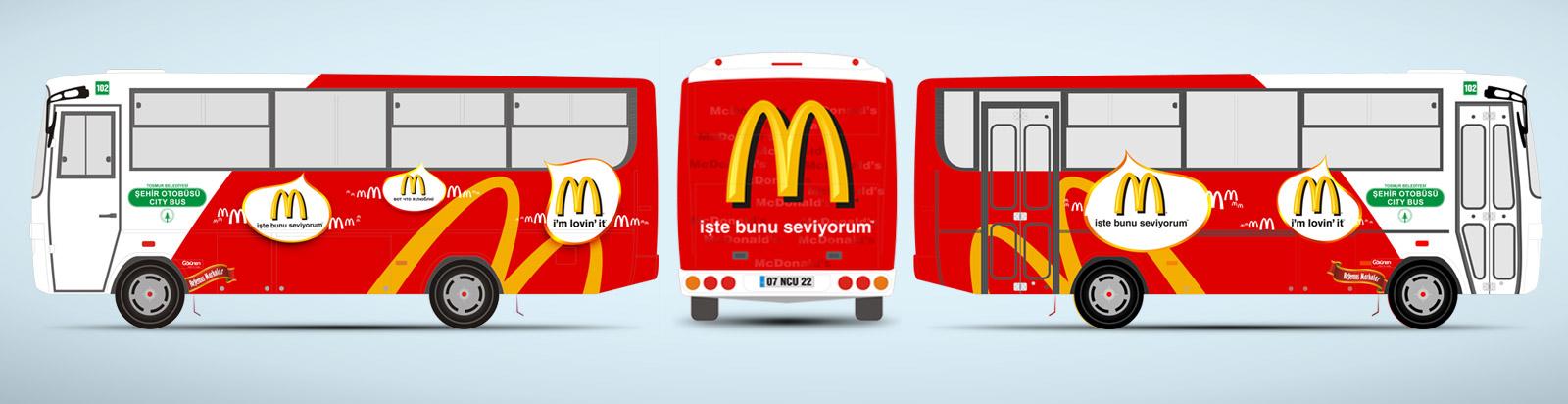 McDonalds Halk Otobüsü Reklamı