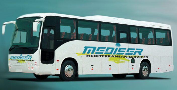 Otobüs Giydirme Tasarımı ve Uygulama - Mediser Turizm