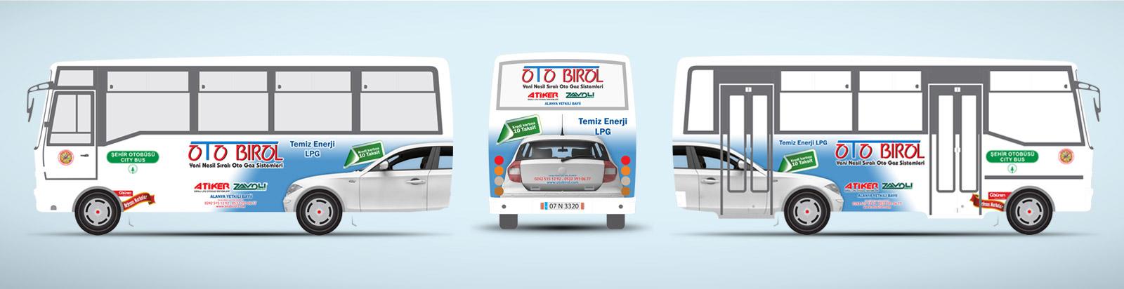 LPG Otogaz Sistemleri Tanıtımı - Halk Otobüsü Reklamı