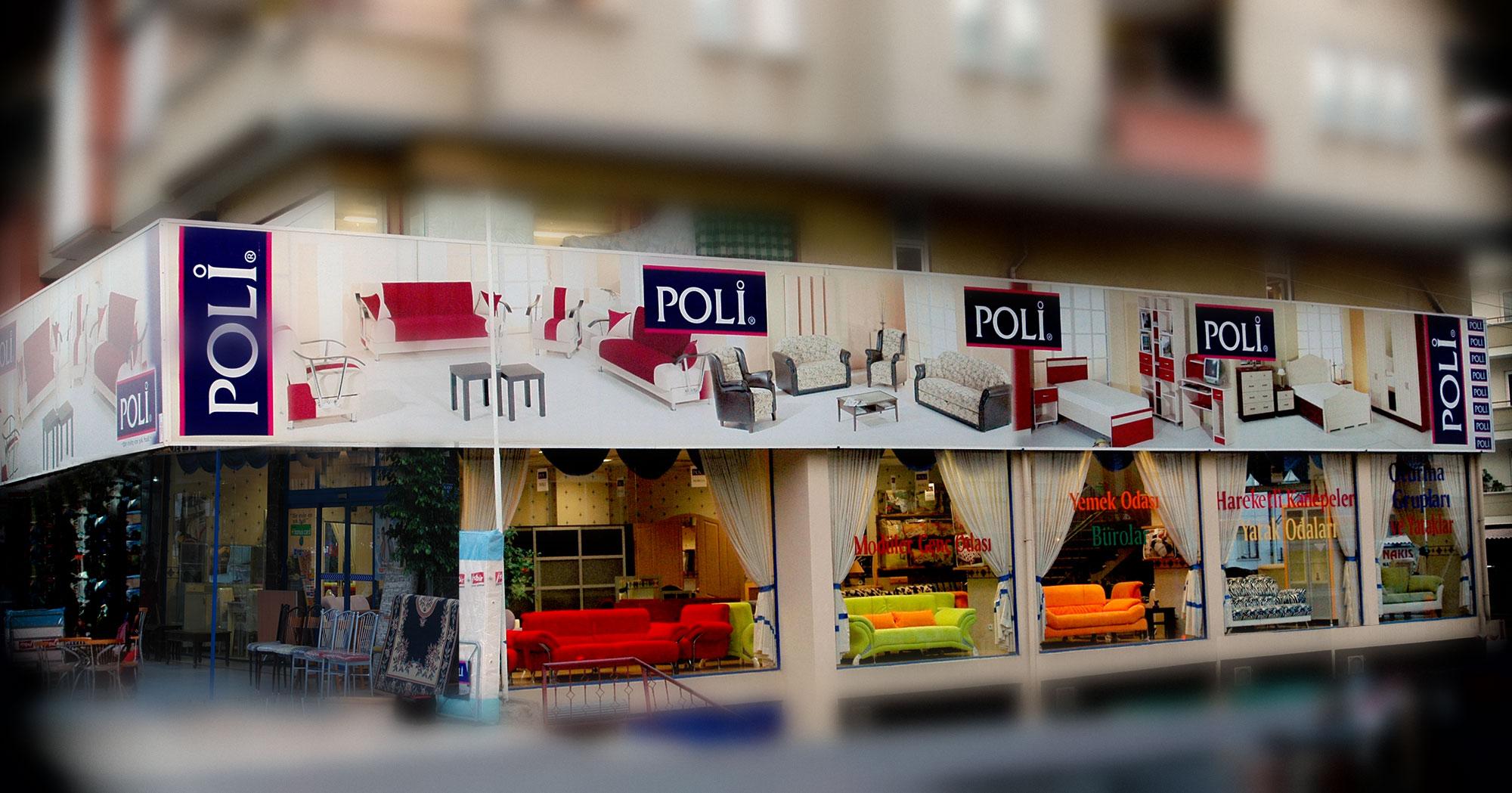 Cephe Giydirme - Poli Mobilya