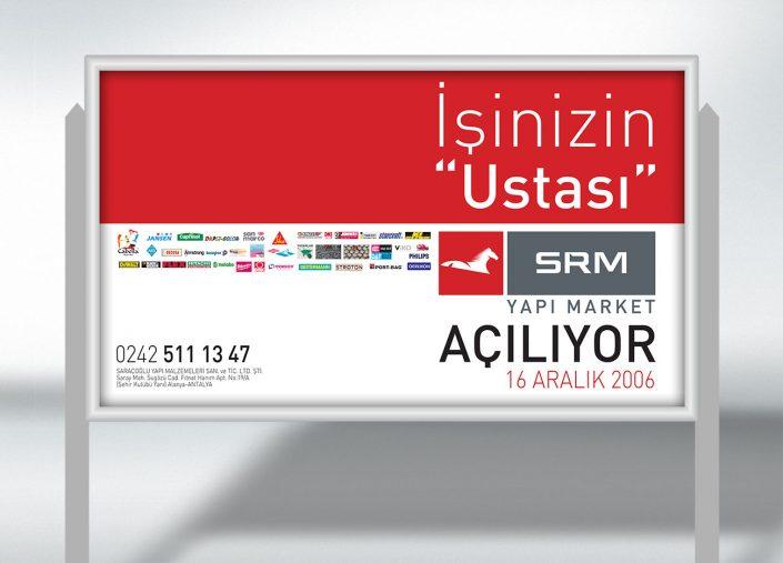 Yapı Market Reklam Kampanyası Billboard Görseli - SRM