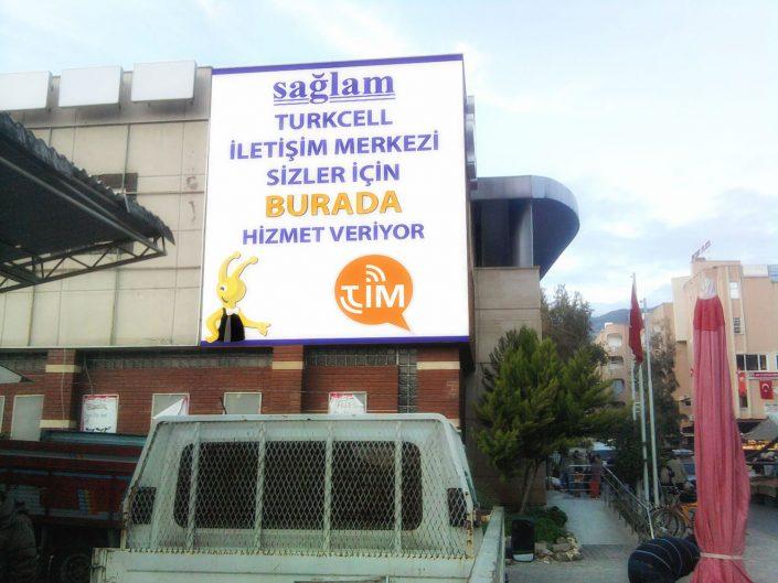 Cephe Giydirme - Sağlam Elektronik - Turkcell