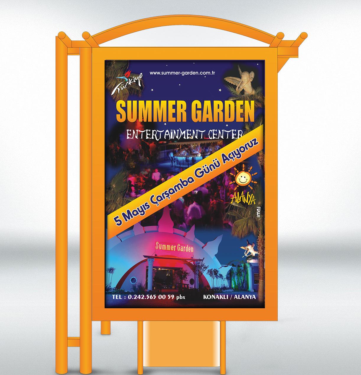 CLP - Raket - Summer Garden Alanya