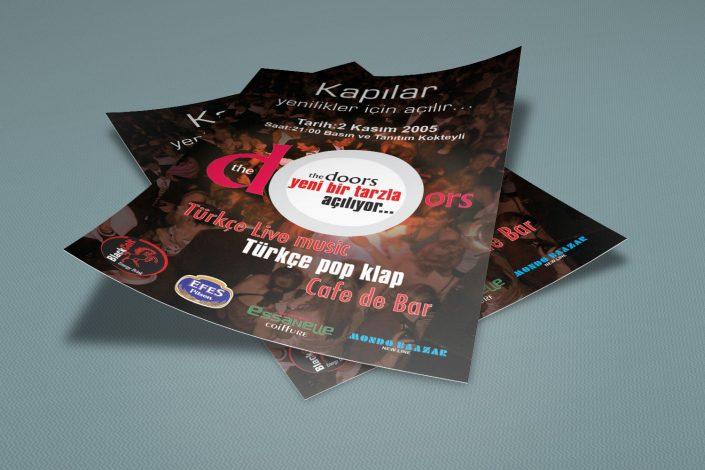 Tükçe Pop Programı Broşür