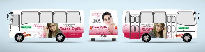 Gözlük Markaları - Halk Otobüsü Reklamı - Tuna Optik