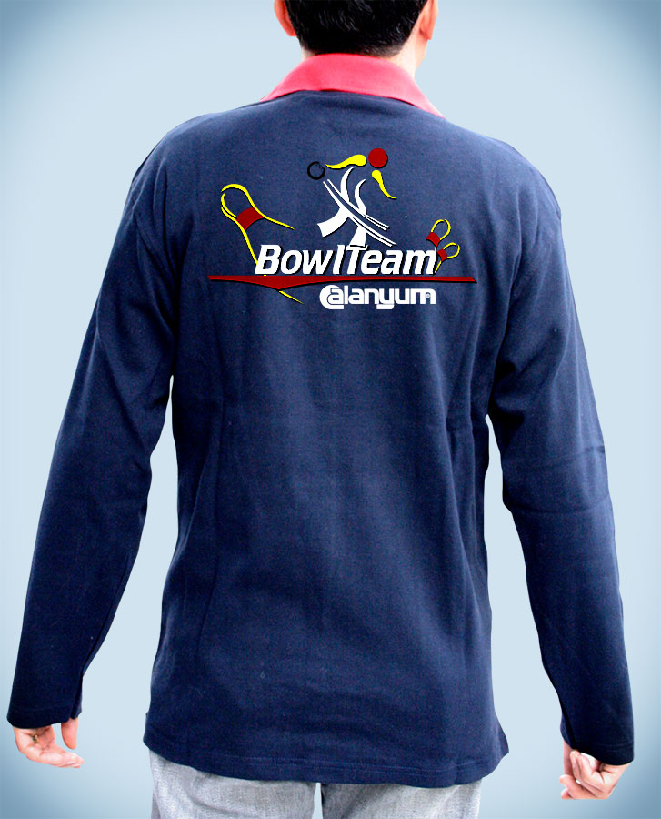 Baskılı Sweatshirt - Universal Bowling
