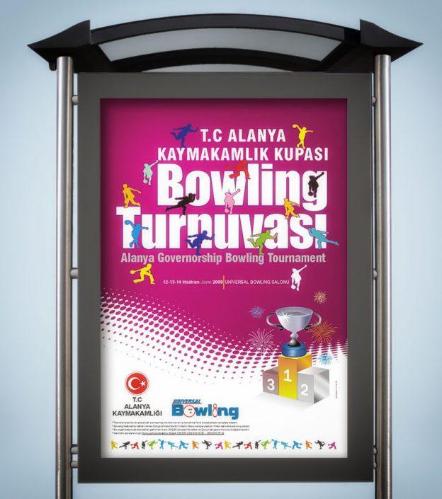 Bowling Turnuvası - Kaymakamlık Kupası Alanya / Antalya