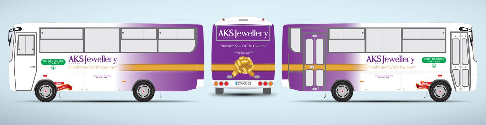 Halk Otobüsü Reklamı - AKS Tiffani Juwelier