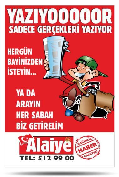 Gazete Tanıtımı Poster & Flyer - Alaiye Gazetesi
