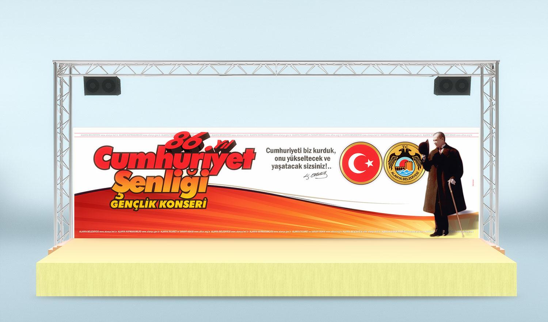 29 Ekim Cumhuriyet Bayramı Şenlik Konser Tanıtımı