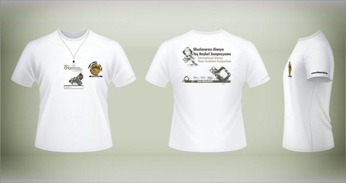 Poster - Bilbord - Raket - T-Shirt - Davetiye - Bez Afiş - Taş Heykel Sempozyumu Alanya Belediyesi