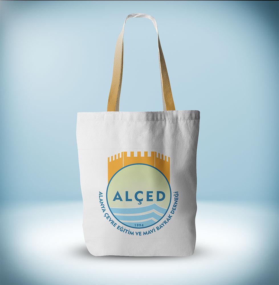 Promosyon Bez Çanta Tasarımı - ALÇED