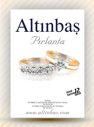 Pırlanta Reklamı Poster Afişi - Altınbaş Pırlanta Antalya