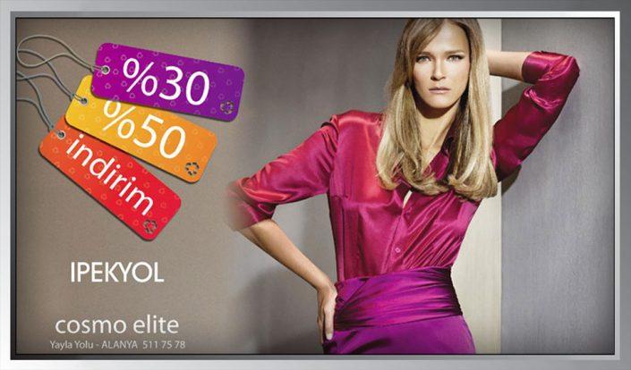 Giyim Mağazası Billboard Afişi - Cosmo Elite