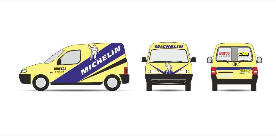 Araç Giydirme Direkçi Michelin Lastik