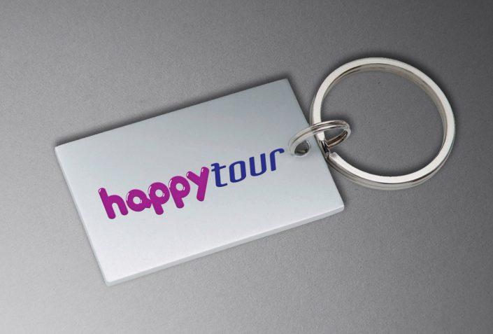Metal Anahtarlık - Happy Tour