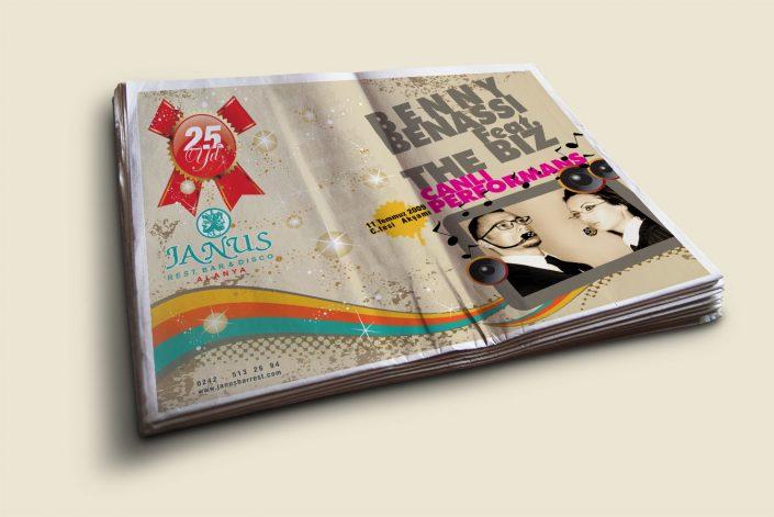 Parti Tanıtımı Kampanyası - Janus Restaurant Bar