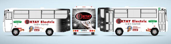 Elektrik Firması Tanıtımı Halk Otobüsü Reklamı - Oktay