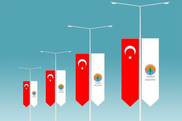 Direk Bayrağı Flama & Türk Bayrağı Alanya Antalya