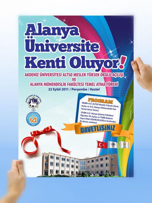 Poster Tasarım - ALTSO Meslek Yüksek Okulu