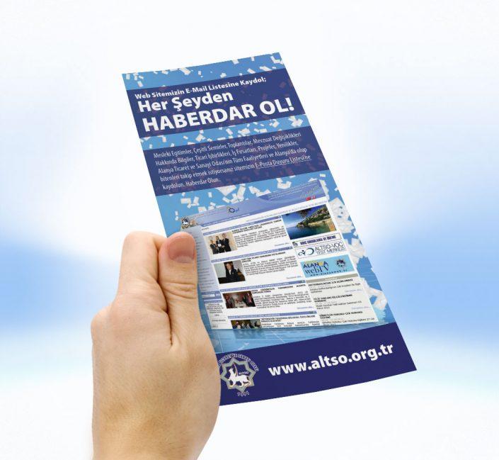 E-Posta Listesi Tanıtım Kampanyası - ALTSO