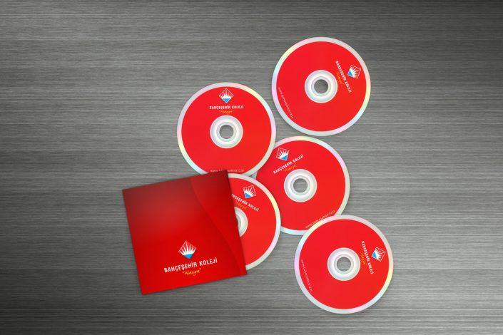 CD - DVD Tasarımı - Bahçeşehir Koleji